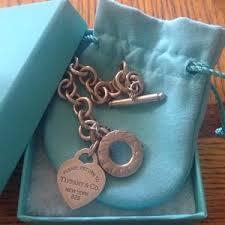 bracelet tiffany heart tag images Women 39 s tiffany toggle heart tag bracelet on poshmark jpg