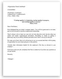 best of welcome letter to new employee how to format a cover letter