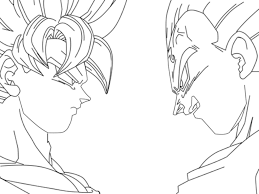 dragon ball z coloring page bebo pandco