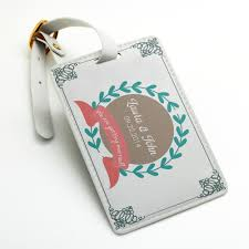wedding luggage tags personalized custom made welcome luggage tag bag tag travel tag