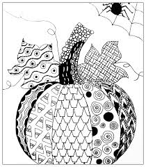 halloween simple pumkin drawing halloween coloring pages