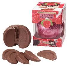 amazon com ovation milk chocolate raspberry break a part 6 17 oz
