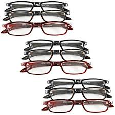 magnifying eyeglasses with light as seen on tv amazon com set of 9 magnifying reading glasses 4 0 4 5 5 0