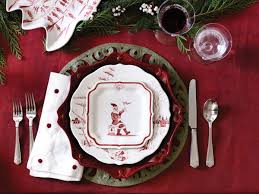 country estate reindeer plates santa collections
