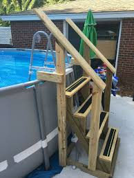 59 best pool steps and ladders images on pinterest ground pools