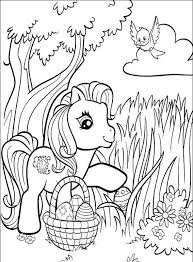 my pony easter basket easter basket coloring pages best coloring pages for kids