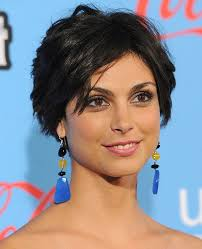 razor cut hairstyles gallery morena baccarin cute layered razor cut hairstyles hairstyles weekly