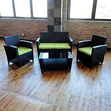 price compare pelican outdoor wicker patio furniture 4 pc sofa set