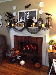 Pottery Barn Halloween Decorations Halloween Mantel Ideas Homemade Halloween Decorations Ideas