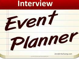 event planner event planner interviewing questions