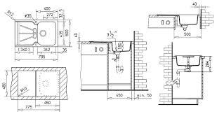 küche arbeitshöhe höhe spüle küchengestaltung kleine küche