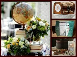 travel themed table decorations wedding decoration ideas travel image collections wedding dress
