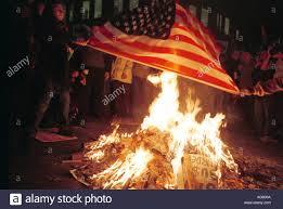 Flag Burning Supreme Court Burning American Flag Protest Stock Photos U0026 Burning American Flag
