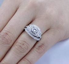 silver engagement ring gold wedding band sterling silver engagement rings ebay