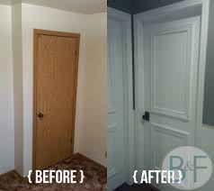hollow core door makeover with paint trim and new knobs bronco hollow core door makeover with paint trim and new knobs bronco and finkus cheap bedroom