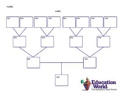 four generation family tree template education