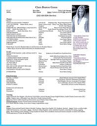 Ballet Resume Sample by Acting Resume Sample Presents Your Skills And Strengths In Details