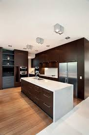 high contrast kitchen glenbervie house by darren carnell