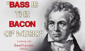 Beethoven Meme - mark marxons meme monday bass is the bacon of music bass musician