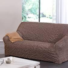 housse de canapé 3 places bi extensible housse salon bi extensible gaufrée préformée blancheporte