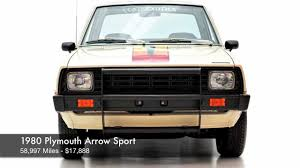 mitsubishi pickup 1980 1980 plymouth arrow sport for sale youtube