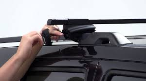 jeep liberty roof rack installation of a thule crossroad roof rack on a 2008 jeep liberty