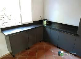 cuisine plan de travail bois massif protection plan de travail cuisine plan travail beton cire var