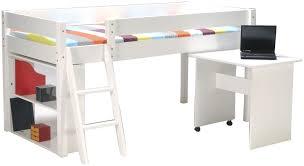 bureau gain de place lit mezzanine 1 place blanc gallery of lit mezzanine 1 place con