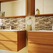 Peel N Stick Backsplash by Interior U0026 Decor Stick And Peel Tile Backsplash Peel And Stick