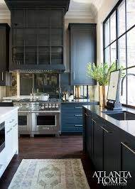 Black Kitchen Countertops by Waterfall Kitchen Counter Tops Granite Kitchens And Subway Tiles