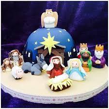 Christmas Cake Decorations Jane Asher by 56 Best Nativity Scene Cakes U0026 Treats Images On Pinterest