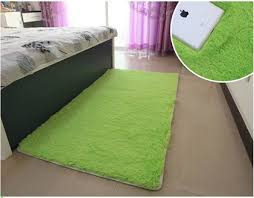 On Sale Cm Green Color Long Carpet Bedroom Rugs For Bath Rug - Green color bedroom