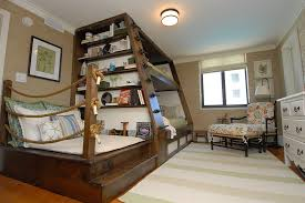 Bunk Bed With Trundle Superb Bunk Beds With Trundlein Bedroom Beach Style With Foxy Cute