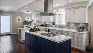 wood elite plus plain door walnut kitchen with 2 islands