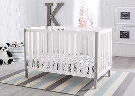 Delta Mini Crib Mattress by Delta Children Bianca With Grey 166 Milo 3 In 1 Crib Hangtag