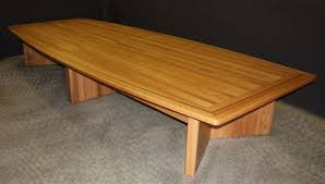 Oak Meeting Table Oak Meeting Table Bonners Furniture