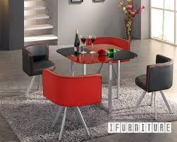cheap red dining table and chairs charming space saver dining table sets space saving tables and
