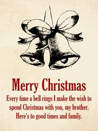 vintage christmas card for brother birthday u0026 greeting cards by