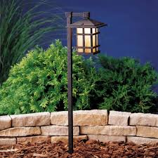 Kichler Outdoor Led Lighting by Kichler Low Voltage Path Light 15322agz Destination Lighting