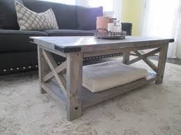 Weathered Coffee Table Distressed Wood Coffee Tables Rustic White Table Oversized