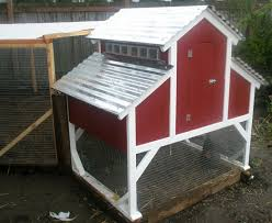 Red Barn Kennel Barn Style Chicken Coop In Buckley Washington