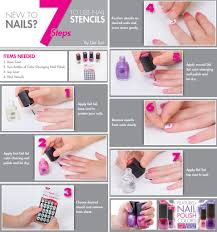 7 steps to using nail stencils like a pro del sol