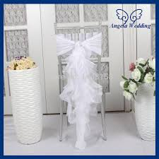 curly willow chair sash ch010f chiffon and organza royal blue wedding chair cover with