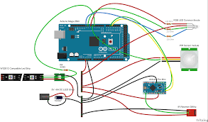 Arduino Map Fritzing Project U2013 Animated Christmas Lights