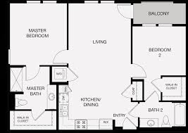 Master Bedroom Bath Floor Plans The Harrison Apartments For Rent In Glendale Ca Floor Plans