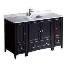 54 Bathroom Vanity Cabinet 50 58 In Bathroom Vanities Bath The Home Depot