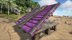 Purple Paint Law by Wooden Ramp Official Ark Survival Evolved Wiki