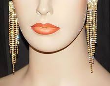 clip on earrings s clip on chandelier fashion earrings ebay