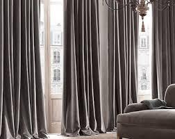 Braided Velvet Curtain Interior Decor Etsy