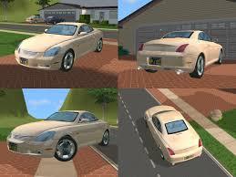 lexus sc430 white gold crystal mod the sims 20th car anniversary vw new beetle convertibe u0026lexus